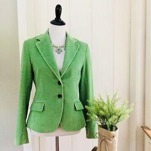 VINEYARD VINES Lime Green Corduroy Blazer Jacket